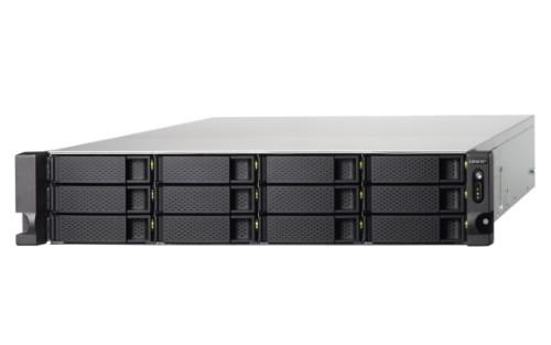 QNAP TS-1273U-RP-16G/48TB GOLD 12 Bay RX-421ND Ethernet LAN Rack (2U) Black NAS