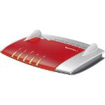 AVM FRITZ!Box 3490 International draadloze router Dual-band (2.4 GHz / 5 GHz) Gigabit Ethernet Rood, Zilver