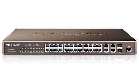 TP-LINK 24-Port 10/100Mbps + 4-Port Gigabit L2 Fully Managed Switch