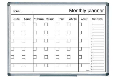 Bi-Office GA0340170 planning board Month