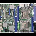 Asrock EP2C612D8-2T8R Intel C612 LGA 2011 (Socket R) ATX server/workstation motherboard