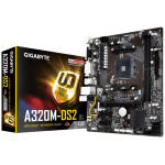 Gigabyte GA-A320M-DS2 AMD A320 Socket AM4 Micro ATX motherboard