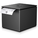 HP ElitePOS Printer Serial + Power Adapter serial cable Black