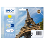 Epson C13T70244010 (T7024) Ink cartridge yellow, 2K pages, 21ml