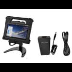 Zebra DOCK L10 INDUSTRIAL DOCK UK PWR dockingstation voor mobiel apparaat Tablet Zwart