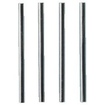 Deflecto Value Value Deflecto Metal Riser Rods 115mm CP006YT (PK4)