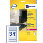 Avery Filing Labels for Elasticated Folders