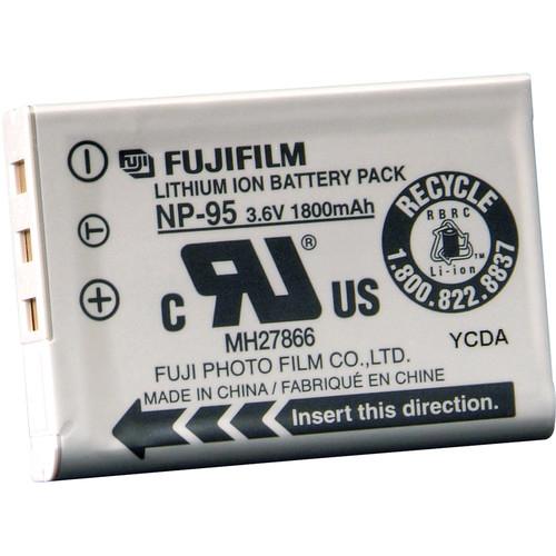 Fujifilm NP-95 camera/camcorder battery Lithium-Ion (Li-Ion) 1800 mAh