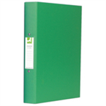 Q-CONNECT KF02004 Polypropylene (PP) Green ring binder