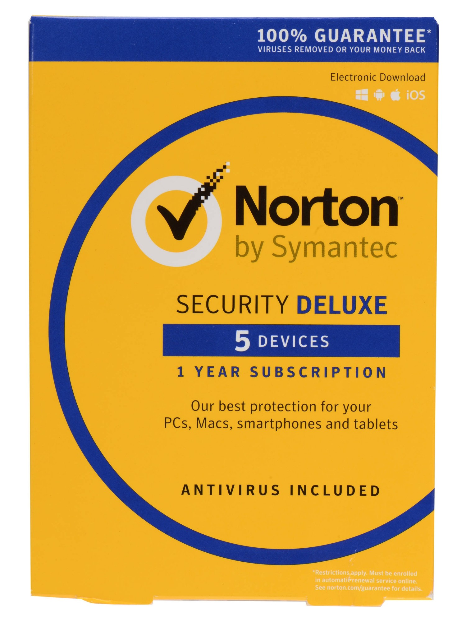 Symantec Norton Security Deluxe 3.0 Full license 1 1 year(s) German