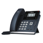 Yealink SIP-T42S IP phone Black Wired handset 12 lines LCD