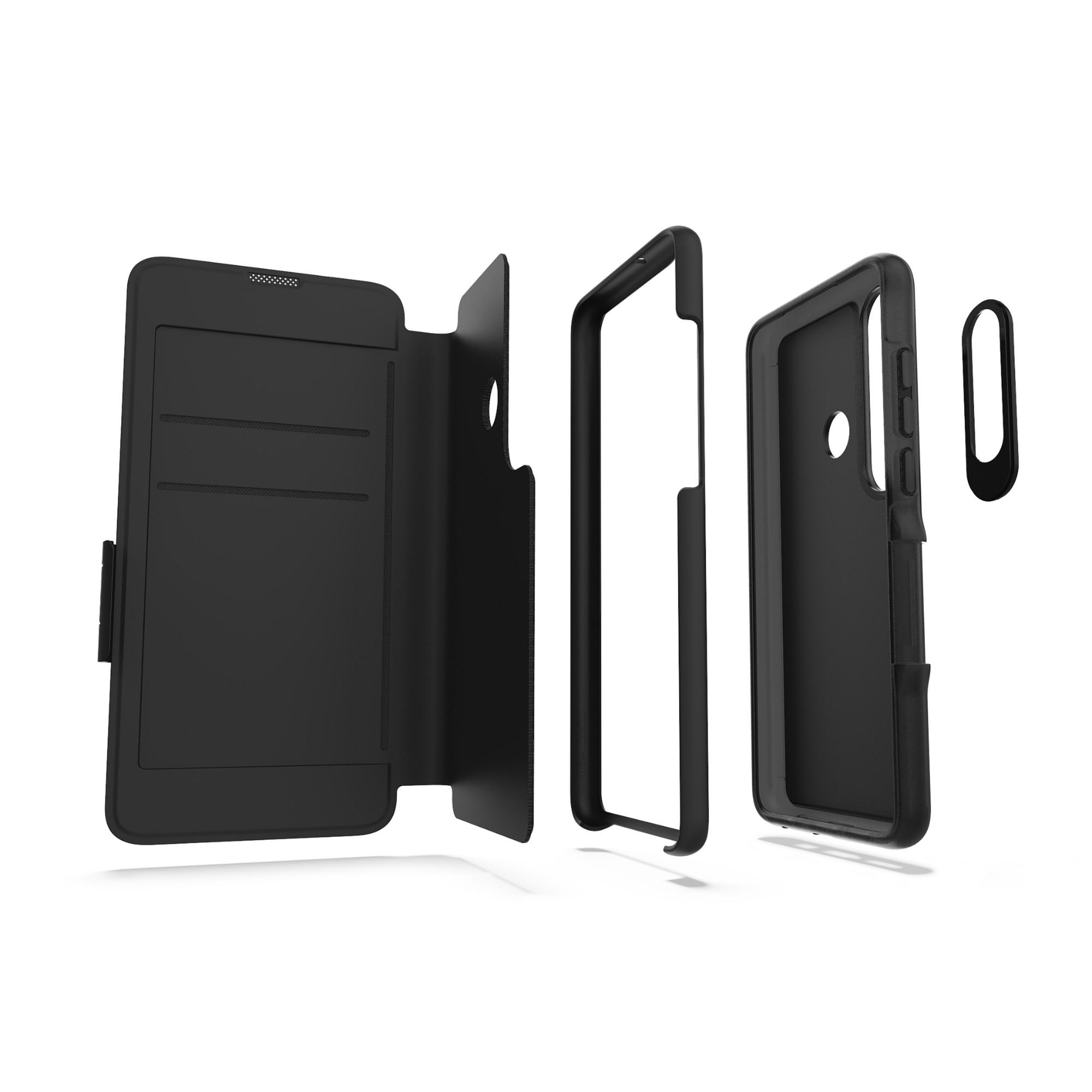 "ZAGG 34910 mobiele telefoon behuizingen 15,6 cm (6.15"") Folioblad Zwart"