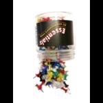Whitecroft Essentials Value Push Pin Assorted Colours PK200
