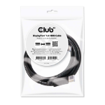 CLUB3D DisplayPort 1.4 HBR3 Cable 2m/6.56ft M/M 8K60Hz