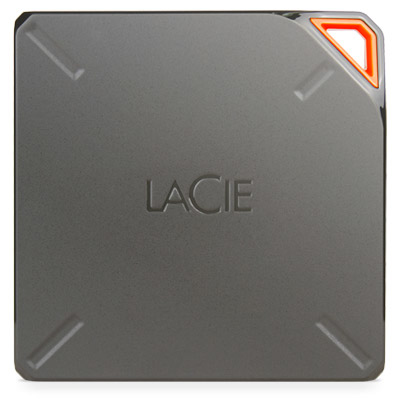 LaCie Fuel external hard drive 1000 GB Wi-Fi Brown