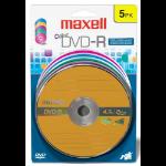 Maxell 5x DVD-R 4.7GB 5 pcs