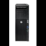 HP Z 620 2GHz E5-2620 Minitower Black