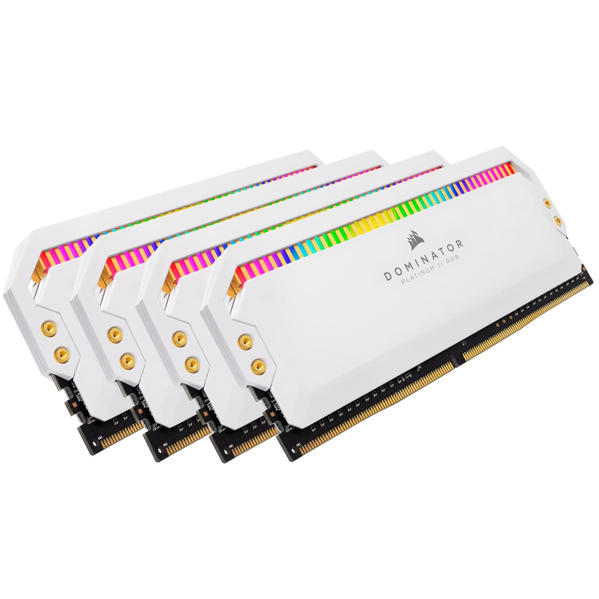 Corsair Dominator CMT32GX4M4C3200C16W memory module 32 GB DDR4 3200 MHz