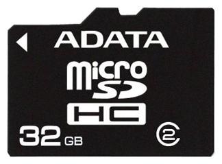 ADATA 32GB microSDHC 32GB MicroSDHC memory card