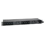 Tripp Lite 7.4kW Single-Phase 230V Basic PDU, 10 C13 Outlets, IEC 309 32A Blue Input, 3.6 m Cord, 1U Rack-Mount