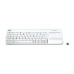Logitech K400 Plus keyboard RF Wireless White