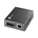 TP-LINK MC110CS network media converter 100 Mbit/s 1310 nm Single-mode Black