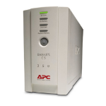 APC Back-UPS Standby (Offline) 350VA 4AC outlet(s) Tower Beige uninterruptible power supply (UPS)