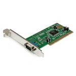 StarTech.com 1 Port PCI RS232 Serial Adapter Card with 16550 UART interface cards/adapter