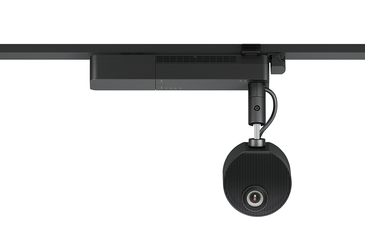 Epson ELPMB54 - Mounting kit (mount) for projector - black - track mount - for LightScene EV-100, EV