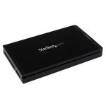 StarTech.com 2.5in USB 3.0 SATA Hard Disk Drive Enclosure for SAT2510U3REM
