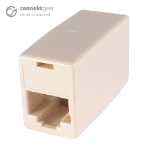 CONNEkT Gear RJ45 CAT5e Coupler - Cream