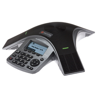 Polycom SoundStation IP 5000 teleconferencing equipment