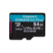 Kingston Technology Canvas Go! Plus memoria flash 64 GB MicroSD Clase 10 UHS-I