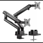 "Amer HYDRA2B monitor mount / stand 81.3 cm (32"") Clamp Black"