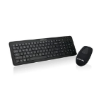 iogear GKM558R RF Wireless Black keyboard