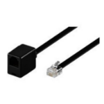 Microconnect MPK103FB telephony cable 3 m Black