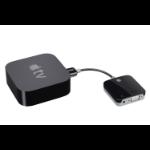"Kanex K172-1022-BK7I video cable adapter 6.89"" (0.175 m) HDMI VGA+ 3.5 mm Black"