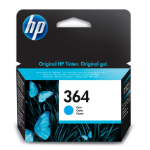 HP CB318EE#301 (364) Ink cartridge cyan, 300 pages, 3ml