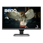 """Benq EW2780Q 68.6 cm (27"""") 2560 x 1440 pixels Quad HD LED Black, Grey"""