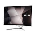 "MSI Pro 22XT 9M-029XEU 54.6 cm (21.5"") 1920 x 1080 pixels Touchscreen Intel® Celeron® G 8 GB DDR4-SDRAM 256 GB SSD Wi-Fi 5 (802.11ac) White All-in-One PC FreeDOS"
