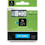DYMO 45020 (S0720600) DirectLabel-etikettes, 12mm x 7m
