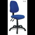 Eliza Tinsley Java 200 High Back Operator Chair Blue  DD