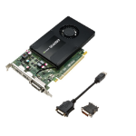 PNY VCQK2200-PB Quadro K2200 4GB GDDR5 graphics card