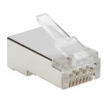 Tripp Lite N232-100-FTP wire connector RJ45 Metallic, Transparent