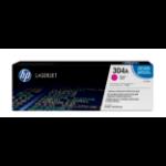 HP 304A tonercartridge 1 stuk(s) Origineel Magenta