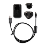 Garmin 010-11478-05 Black power cable