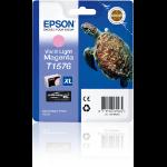 Epson C13T15764010 (T1576) Ink cartridge bright magenta, 26ml