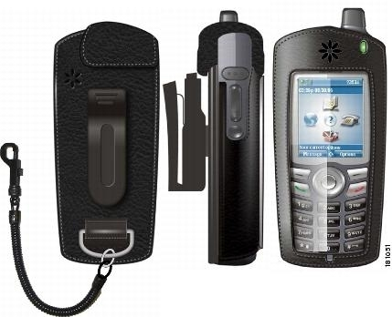 Cisco Unified Wireless IP Phone 7921G Leather Carry Case