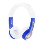 onanoff BuddyPhones Explore Foldable Head-band Binaural Wired Blue, White mobile headset