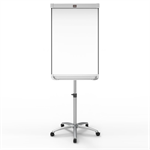 Nobo Prestige Enamel Mobile Magnetic Flipchart Easel with Connex